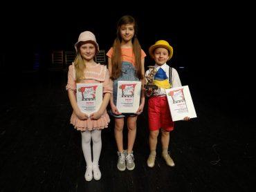 Mamy 3 nagrody w IV Festiwalu Młodego Aktora w Kętach