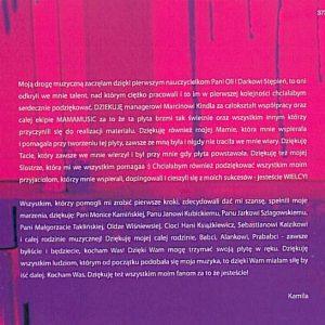 Wewnętrzna okładka płyty