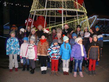 Kręcimy teledysk świąteczny w Parku Św. Mikołaja