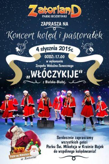 Koncert w Parku Św. Mikołaja w Zatorze